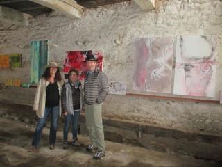 Impressionen Malerei im Salon dans le pré im Mai 2016