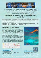 Einladung: Kunst und Ingenieurwesen