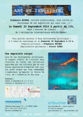 Invitation:Exposition Art et Industrie
