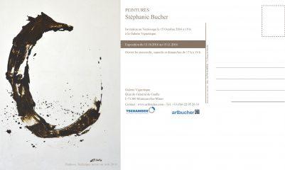 Peintures Stéphanie Bucher- Exposition du 15.10-15.11.2016 à la Galerie la Vignotèque à Montceau-les-Mines