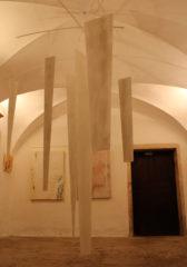 artbucher expose à L'Ênvoûtée, Galerie d'art 2 bis rue Saint-Nizier-Mâcon ' WHITE SPIRIT' en mars 2018