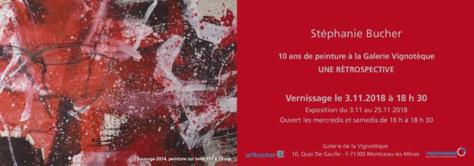 Une Retrospective, 3.11-25.11.2018 à la Galerie Vinotèque