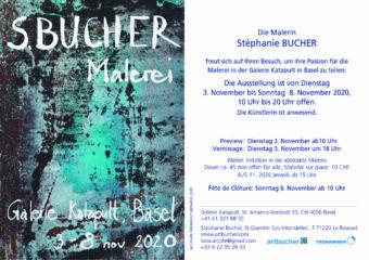 Ausstellung in der Galerie Katapult vom 3.11.2020 bis 8.11.2020