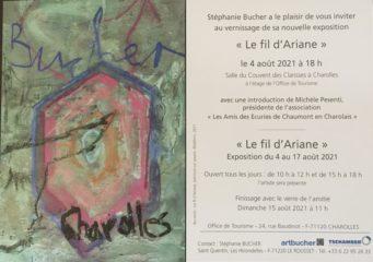 Exposition Stéphanie Bucher et le fil d'Ariane - 4.-17.08.2021